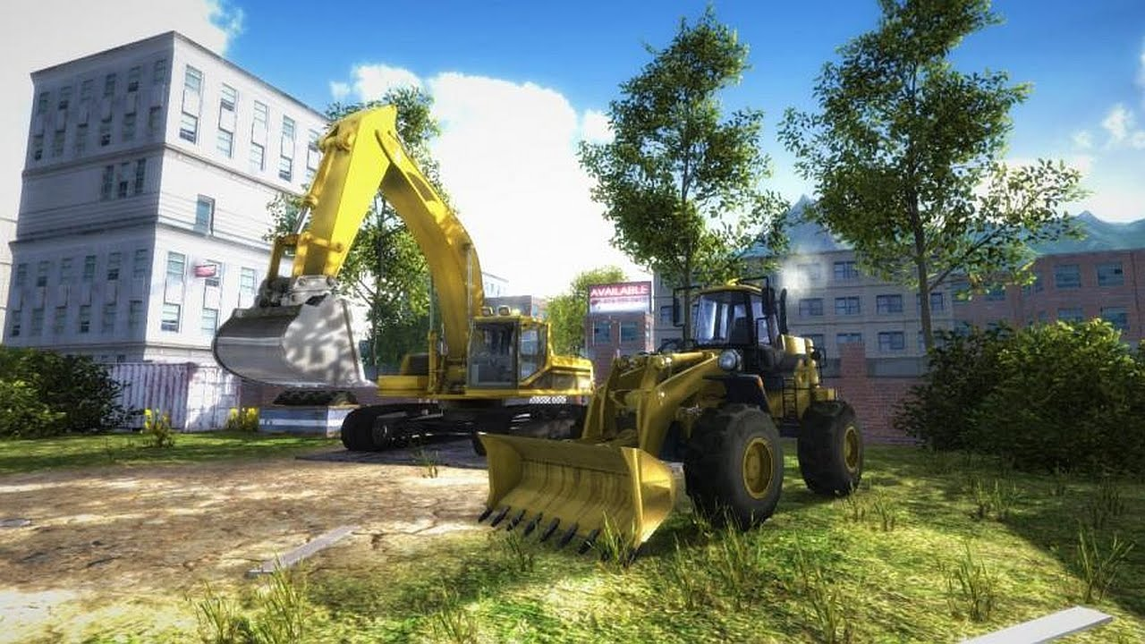 construction machines simulator 2016 gameplay youtube