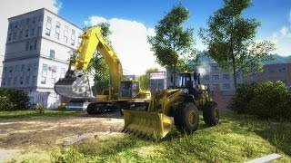 Construction Machines Simulator 2016 Gameplay