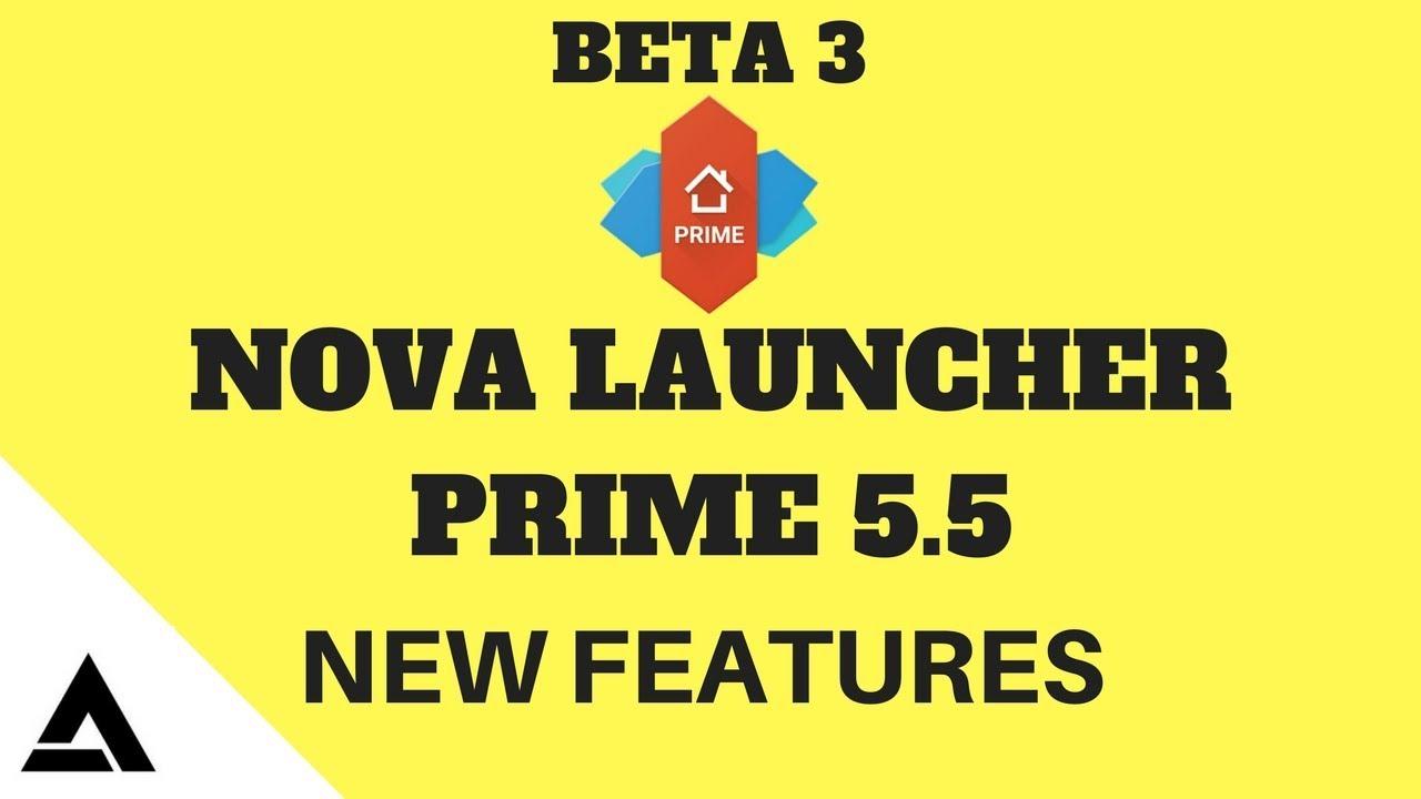 nova launcher prime 5.5 3 apk free download