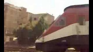egypt train ENR  part 1    6/8/2007 قطارات سكك حديد مصر