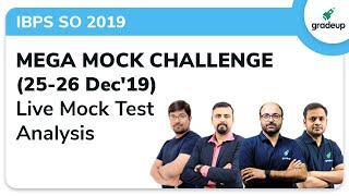 IBPS SO Prelims 2019 All India Mock: Live Video Analysis