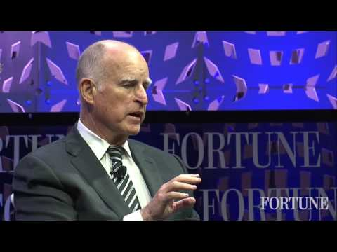 California Governor Brown and L1 Energy CEO John Browne on t