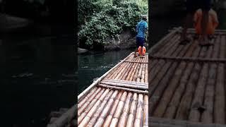 Сплав на бамбуковых плотах в джунглях, Пхукет - ч.2