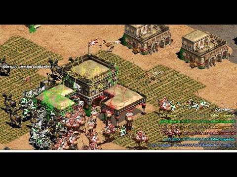 EPICA BATALLA DE CLANES aM Vs SY AGE OF EMPIRES 2