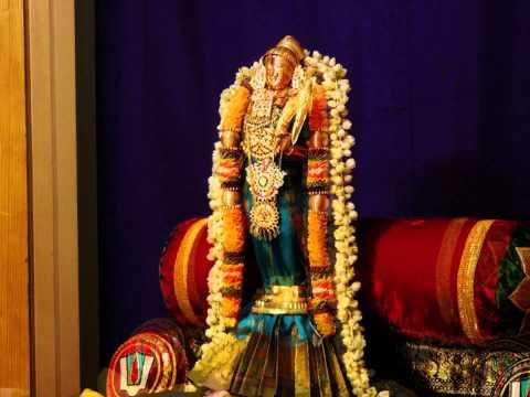 "Sanskrit Hymn on Srivilliputtur Godha Nachiyar (Sri Aandal) - ""Godha Sthuthi"" (Swami Vedanta Desika)"