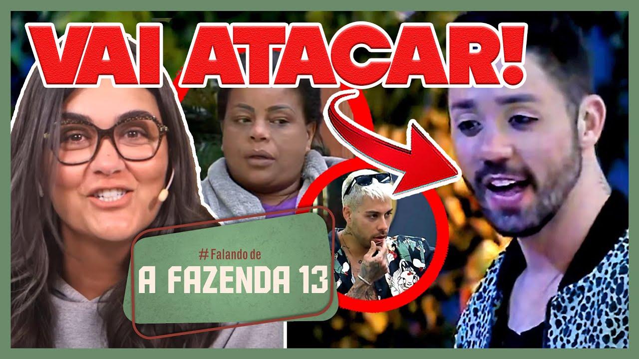 Download 🐔A Fazenda 13: Rico promete atacar Tati, tenta se vingar mas arrega; Gui entrega Jade e ela rebate