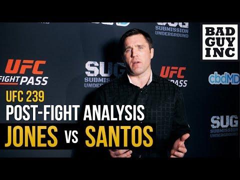 Here's how I scored Jon Jones vs Thiago Santos...