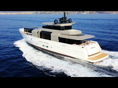 The Top Ecological Solar-Powered Aria.S Luxury Superyacht (by Arcadia Yachts)