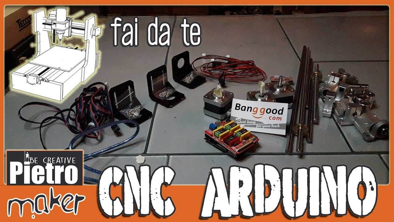 ✔️ CNC machine with ARDUINO - DIY project # 1