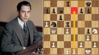 No Way, Jose! | Tarrasch vs Capablanca | San Sebastian (1911)