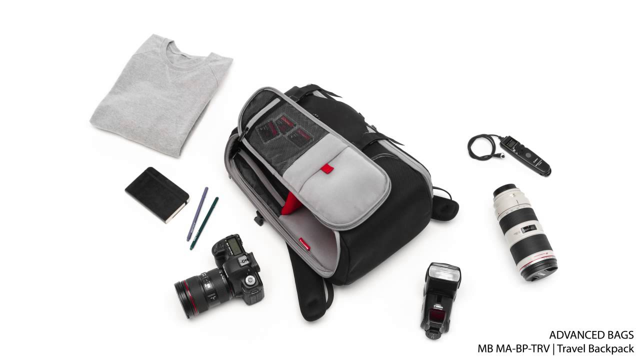 7381700928 Manfrotto Advanced Bag Travel Backpack MB MA BP TRV - YouTube