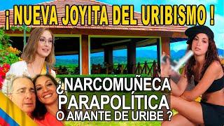 Jennifer Arias fotos armada, con narcos, con Uribe y es la presidenta de cámara Lo que los ojos ven