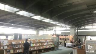 本棚のレイヤード  図書館戦争のロケ地その2  十日町情報館  建築 デザイン Japan Architectural works