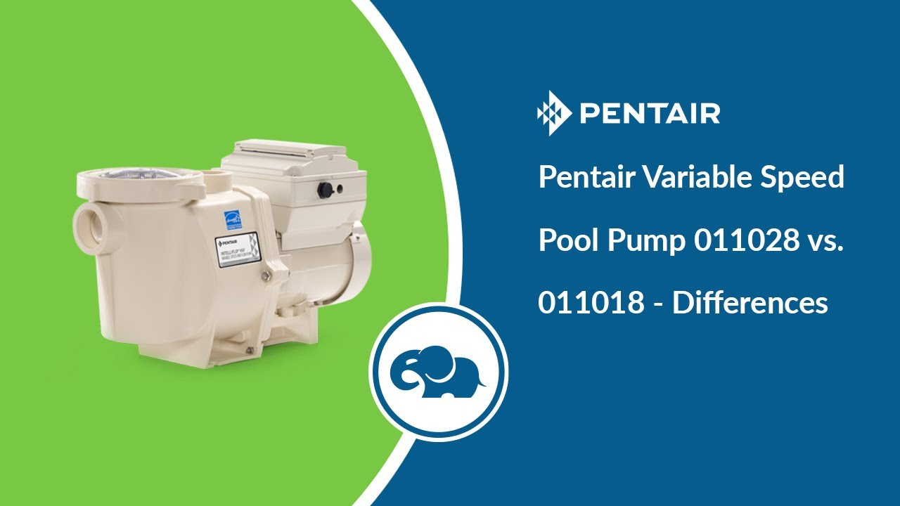 Pentair Intelliflo Variable Speed Pool Pump (3HP)