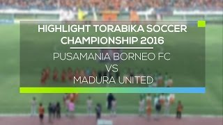 Video Gol Pertandingan Pusamania Borneo FC vs Madura United u20