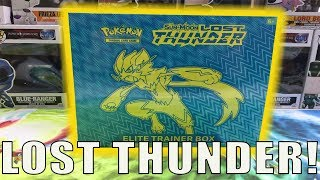 LOST THUNDER ELITE TRAINER BOX! POKEMON CARD OPENING