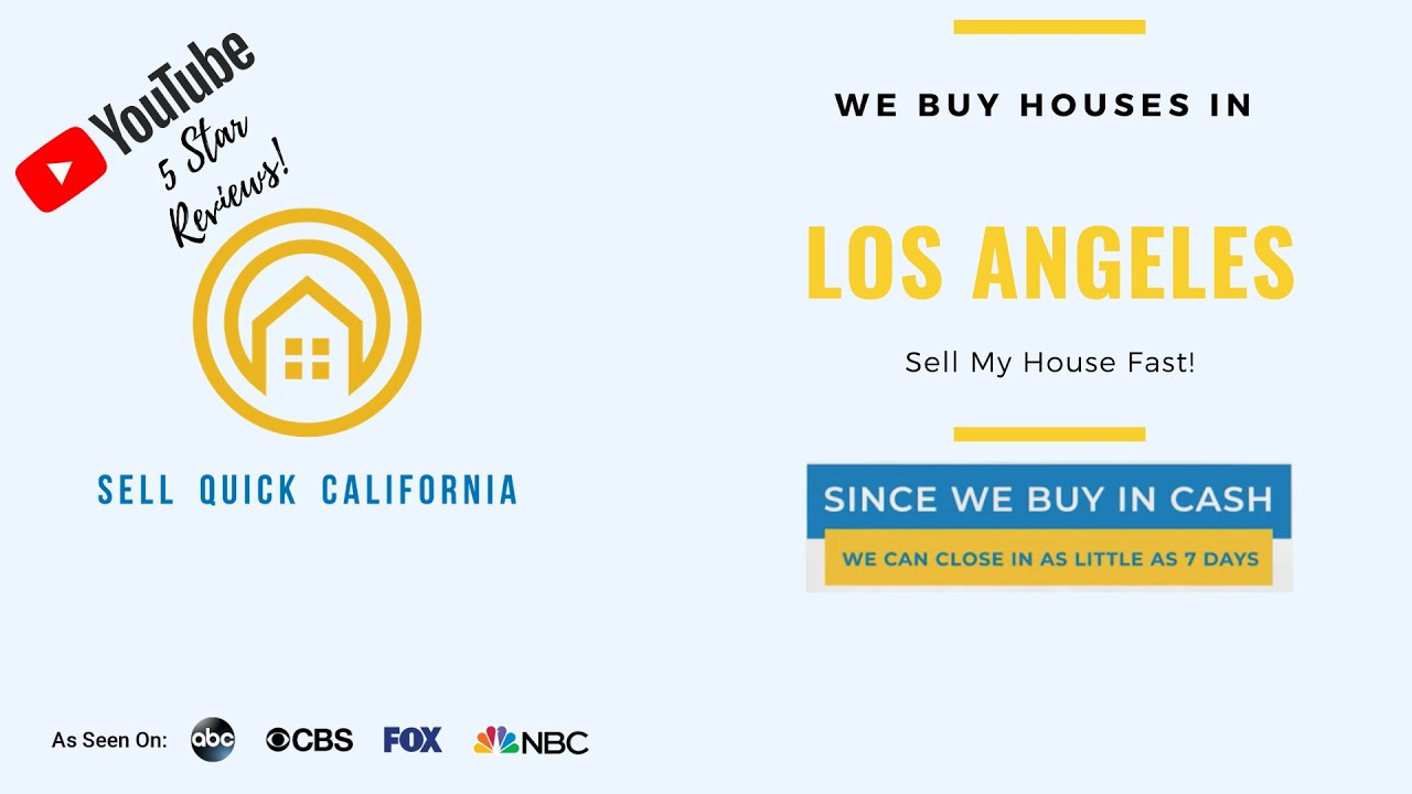 We Buy Houses In Los Angeles California [Real Estate Investor Property Walk Through]