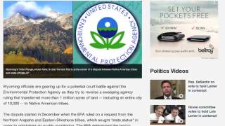 The EPA Redraws Wyoming
