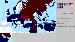 World War 3 - Scenario 2 [Alternate Future] The Road to World War 3