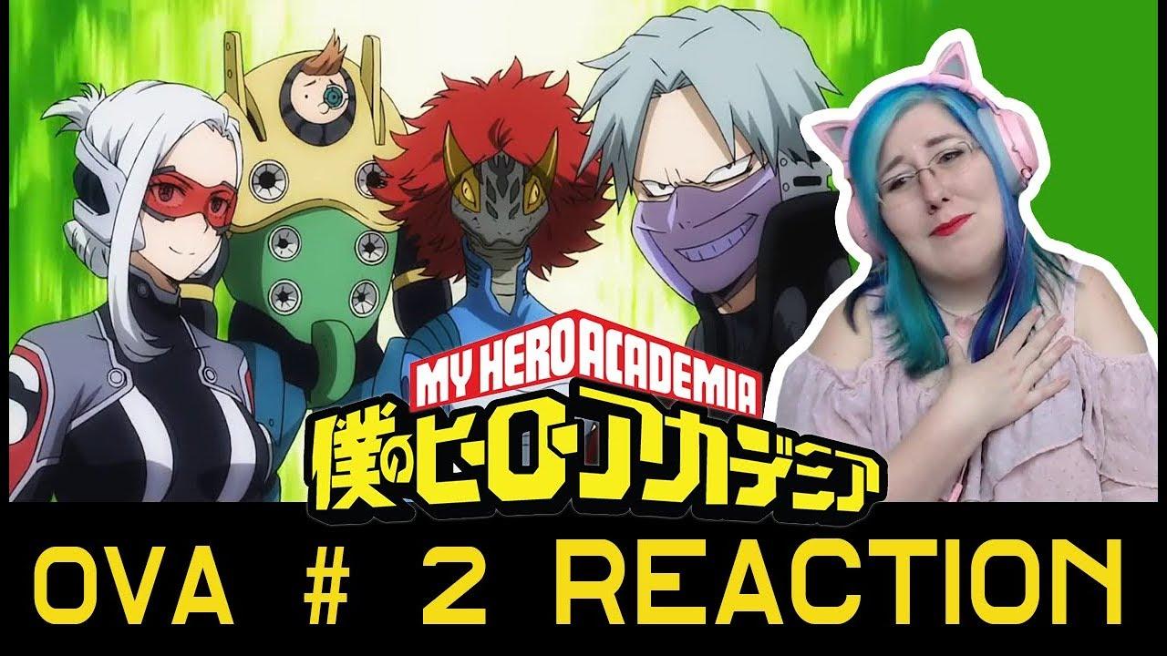 Training Of The Dead My Hero Academia Ova 2 Reaction Zamber Reacts Youtube