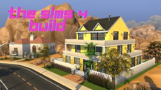 The Sims 4 yellowhouse. Build #2