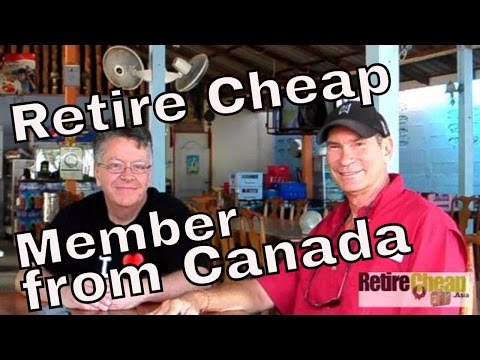 JC's Conversation with Retire Cheap Member from Canada