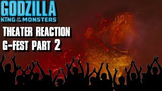 Godzilla: King Of The Monsters G-Fest Theater Reaction Part 2