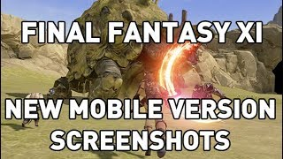 New Final Fantasy XI Mobile Screenshots