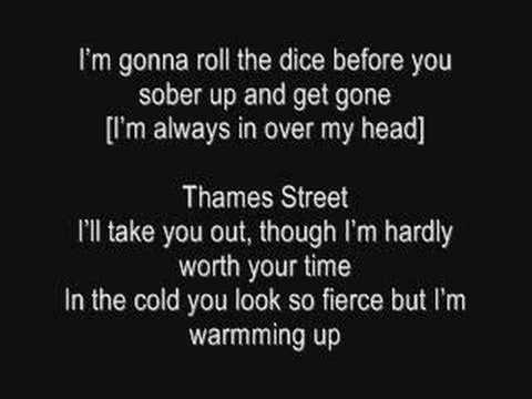 'Six Feet Under The Stars'-All Time Low (lyrics)