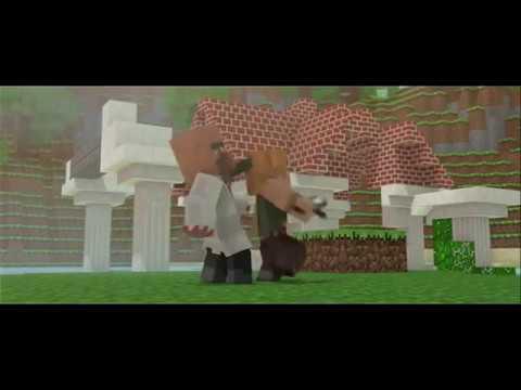 Marshmello - Alone, Minecraft Animation.