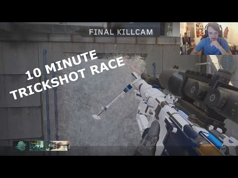 How Many Trickshots Can FaZe Carl Hit In 10 Minutes?