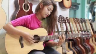 Custom mahogany D.angel Nhẫn guitar giá chỉ 3tr