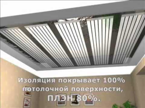 ПЛЭН - ИК отопление, плёночный нагреватель