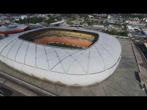 Manaus Drone Arena da Amazônia  Praia da Ponta Negra e outros lugares
