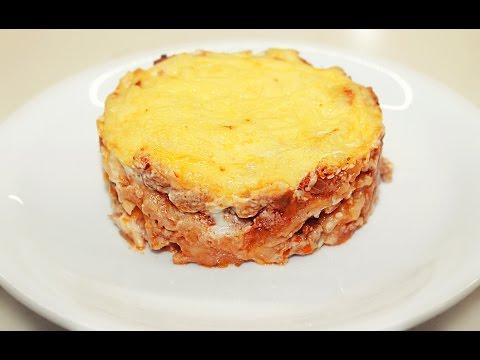 Ленивая ЛАЗАНЬЯ из лаваша / Lazy Lasagna Recipe