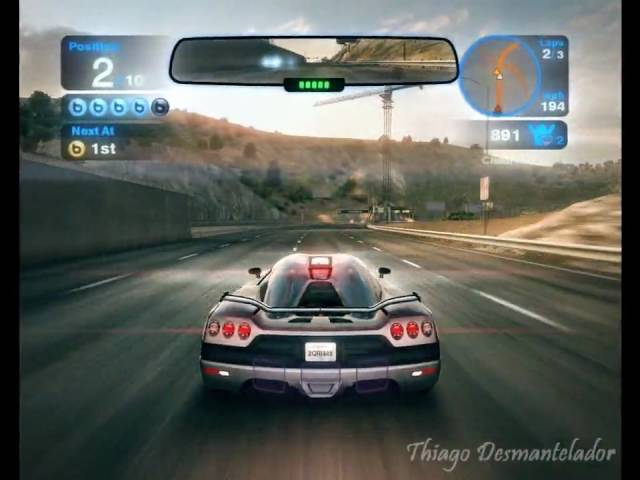 Blur Gameplay  [Show Down]   Race 2  [HARD]