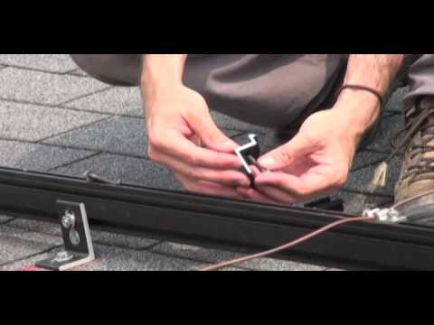 Installation of a Photovoltaic System 4: Installing the First Module