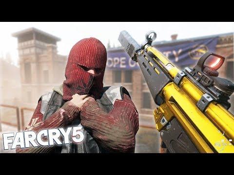 FAR CRY 5 EPIC PRISON DEFENCE! Far Cry 5 Freeroam Funny Moments & Fails!