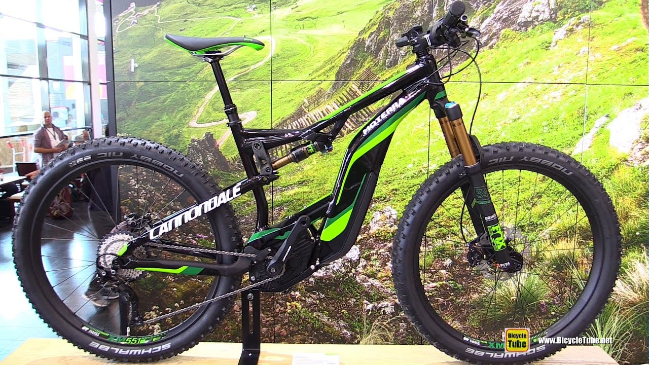 2017 cannondale moterra 1 electric mountain bike walkaround 2016 eurobike youtube. Black Bedroom Furniture Sets. Home Design Ideas