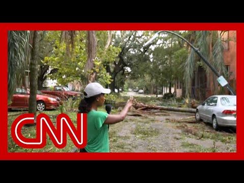 Here's what a part of New Orleans looks like after Hurricane Ida