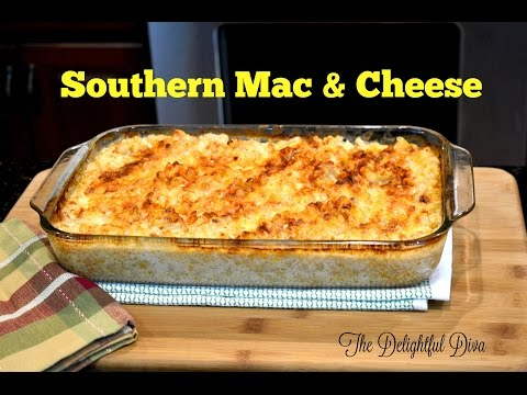 Yummy Southern Mac & Cheese | The Delightful Diva