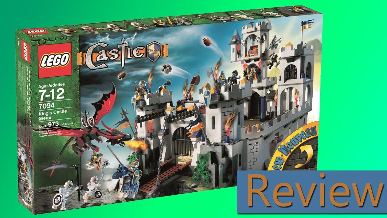 Lego Castle Kings Castle Siege 7094 Review Youtube