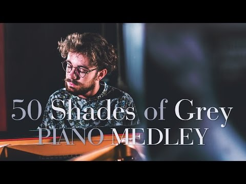 50 Shades of Grey - PIANO MEDLEY ! - Costantino Carrara