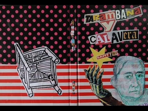 Santi Veracruz - Artist book. TARAMBANA Y CALAVERA. Libro de artista.