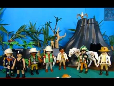 Playmobil jurassic world dinosaure dinos youtube - Dinosaure de jurassic park ...