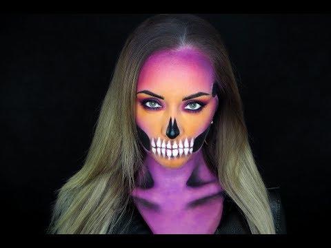 Líčení na Halloween - Lebkoun | TMT