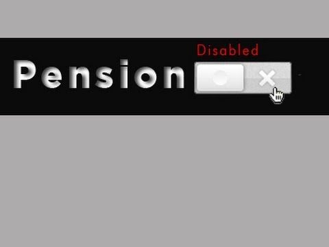 Pensions Disabled