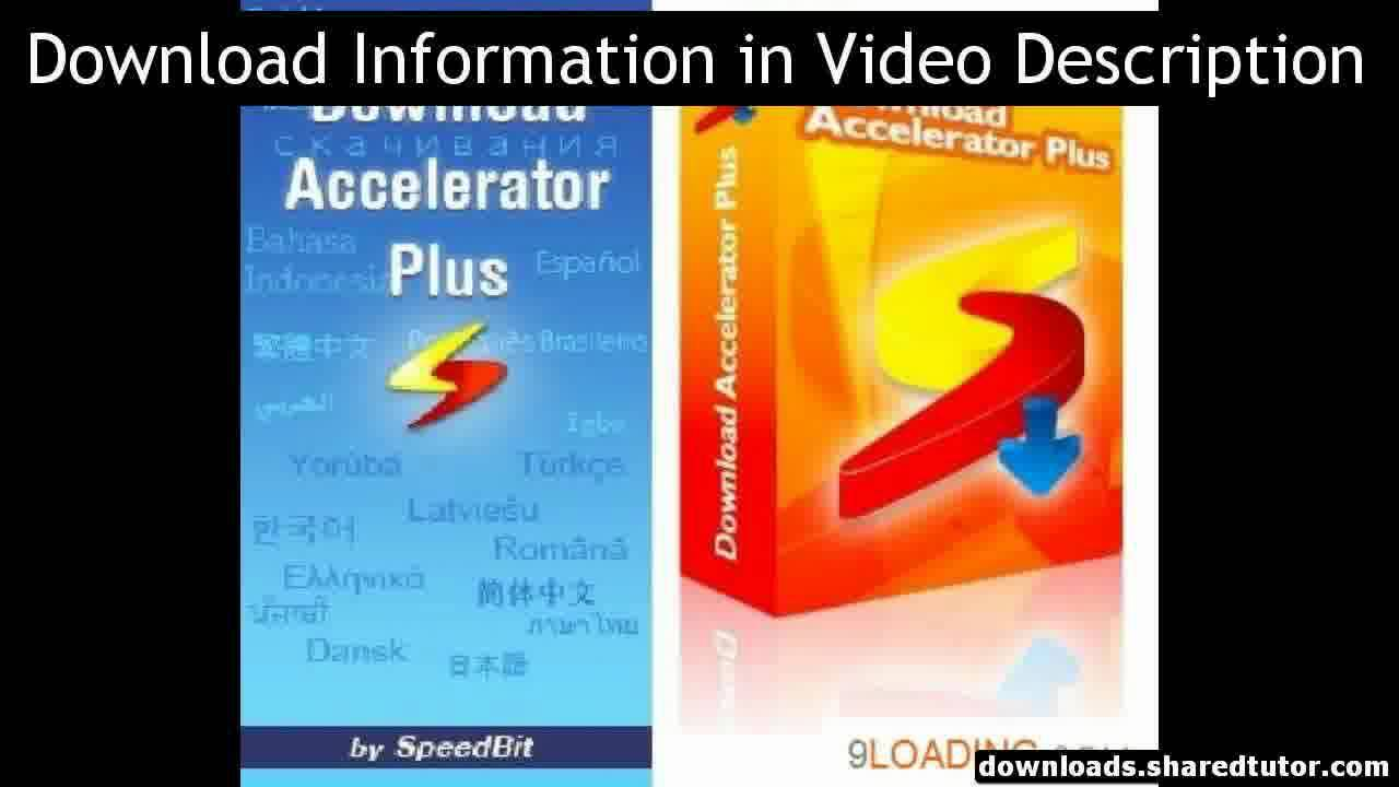 download accelerator plus dap 9.5.0.2 gratuit
