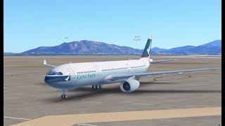 Infinite Flight    HKG-TPE   A330 CX468