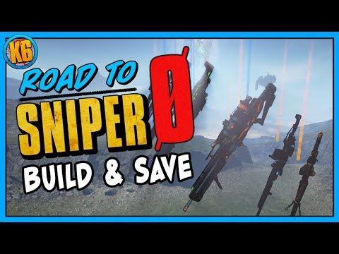 Borderlands 2   Road to Sniper Zer0 - Build & Game Save